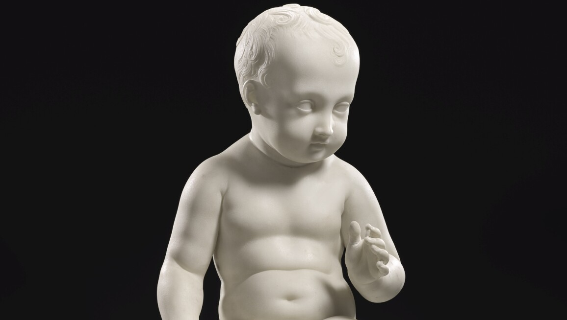 Antonio Canova, The Infant St John the Baptist, presumed to have been conceived as a portrait of Napoleon II, Roi de Rome