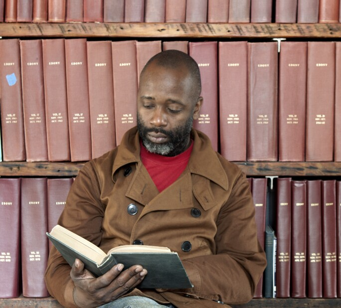 Photograph of Theaster Gates