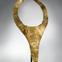 217. nias gold pectoral, indonesia