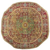 1. an ottoman circular carpet, cairo, egypt
