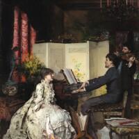 434. Pascal Adolphe Jean Dagnan-Bouveret