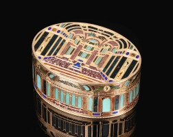 59. a gold and pietra dura snuff box, johann christian neuber, dresden, circa 1770 |