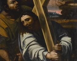 119. francisco ribalta | christ carrying the cross