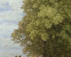10. robert zünd | landschaft (kundschafter aus dem lande kanaan)