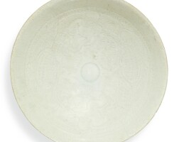 81. a carved qingbai 'boys' bowl southern song dynasty