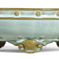 1. a junyao moon-white glazed narcissus bowl early ming dynasty |