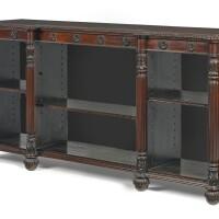 48. a george iv rosewood bookcase, circa 1830