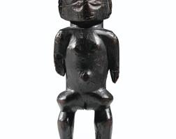 63. statue, ngbaka, république démocratique du congo