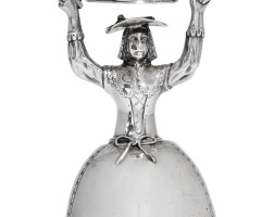 303. a rare george iii silver wager cup, augustin le sage, london, circa 1770 |