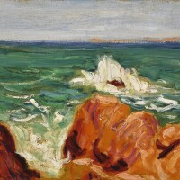 10. roderic o'conor | red rocks, brittany