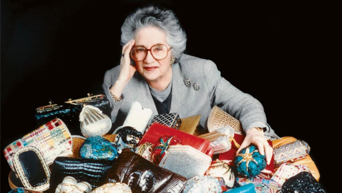 Judith Leiber among her Asian-Inspired Handbags