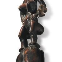 41. guro mask by the bron-guro master, ivory coast