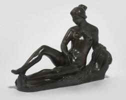 """174. aristide maillol   jeune fille couchée (étude pour """"le monument à paul cézanne"""")"""