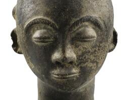 24. akan terracotta head, ghana |