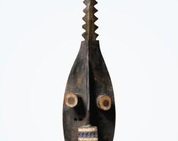 70. masque, grebo, côte d'ivoire  