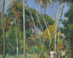 18. 保羅・高更 | 《棕櫚樹下的小徑》