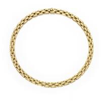 3. 18 karat gold 'panthère' necklace, cartier, france