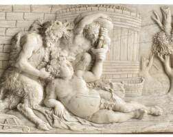 24. french, 18th century, probably by pierre david cazenovethe drunken silenus,  