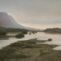3. auguste veillon | paysage fluvial
