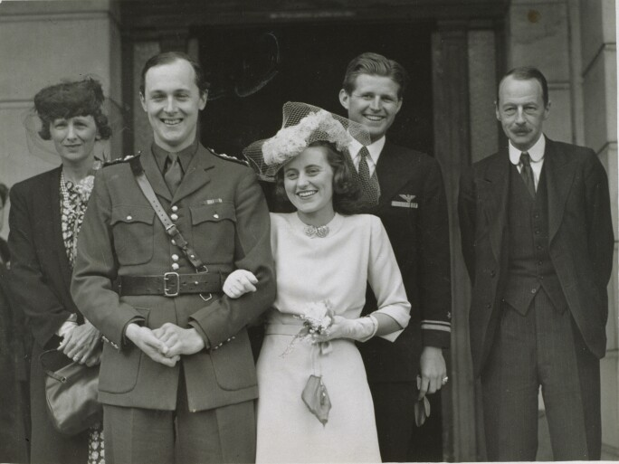 The marriage of William Cavendish and Kathleen Kennedy, 1944