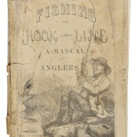 47. [herbert, henry william (frank forester)]. 'fishing with hook and line: a manual for amateur anglers. containing descriptions of popular fishes and their habits, preparation of baits, &c. &c.'new york: published at the brother jonathan office, [1858]