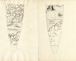 50. anonymous, [greutter], globe gores, terrestrial, celestial and horizon rings