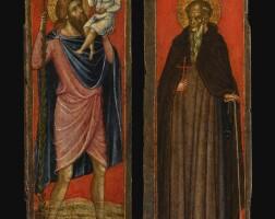 11. 保羅·韋內齊亞諾 | 三聯作翼屏:內屏:《聖彼得、施洗者聖約翰、聖保羅與一名聖主教》;外屏:《聖克里斯托弗與聖嬰》,《聖安東尼》