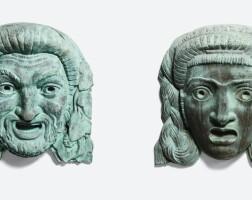 27. antoine sartorio | two mascarons