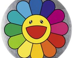 3. takashi murakami | rainbow flower - 7 o'clock