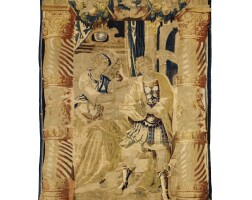 11. a flemish classical tapestry brussels, first half 17th century