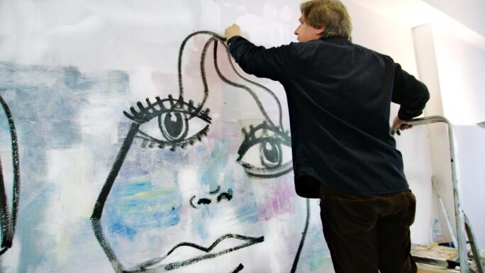Artist George Condo
