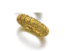 7. 黃金配琺瑯彩手鏈, schlumberger