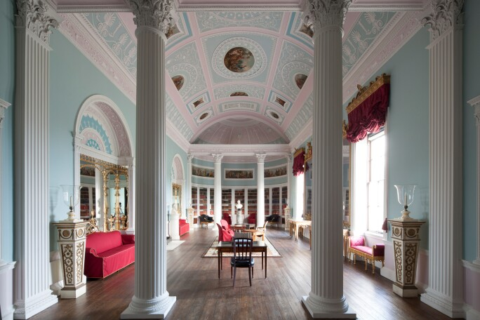 The library at Kenwood House