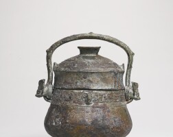 108. a bronze ritual vessel with inscription (you) western zhou dynasty 11th-10th century bc