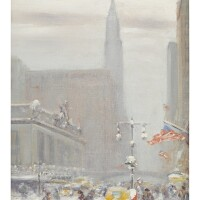 1. johann berthelsen | fortysecond street looking east with grand central station on the left and the chrysler buildingon lexington avenue in the distance