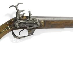 284. a rare ottoman ivory-inlaid flintlock pistol, turkey, 17th century