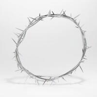 5. silver crown of thorns headpiece, shaun leane