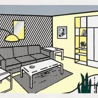 11. 羅伊・李奇登斯坦 | 《現代家居(書房)》