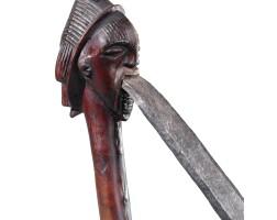 13. herminette, luba kasaï, république démocratique du congo