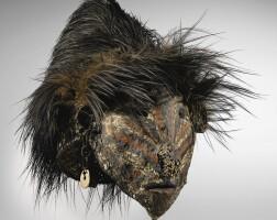 8. masque, bas sepik, papouasie-nouvelle-guinée