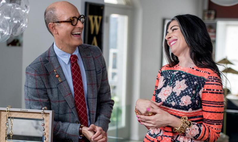 Frank's Files: Stacy London Pairs Vintage Jewels with Vintage Fashion