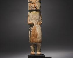 10. a hopi polychromed wood kachina figure |