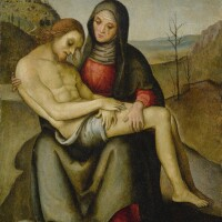 10. 佛羅倫薩或溫布利亞畫家,年輕拉斐爾之周邊人士,約1505年 | 《聖殤》