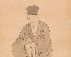 2507. attributed to huang yi | portrait of dong qichang