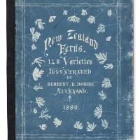 11. dobbie, herbert. new zealand ferns. auckland, 1880