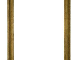 21. a giltwood rectangular frame
