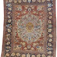 23. a fine ziegler mahal carpet, northwest persia