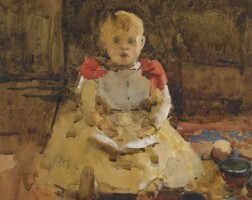 7. arthur melville, a.r.s.a., r.s.w. a.r.s. | a young boy reading