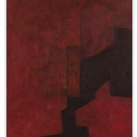 142. serge poliakoff   monogramme rouge