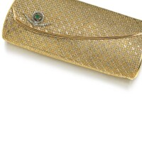 318. lady's gem set evening bag, 1960s